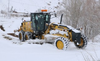 Sivas'ta 134 köy yolu ulaşıma kapalı