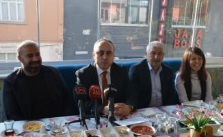 SMMMO Başkanı Doğan, gazetecilerle bir araya geldi
