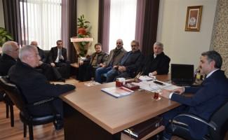 Spor taban birliklerinden Kayhan'a hayırlı olsun ziyareti