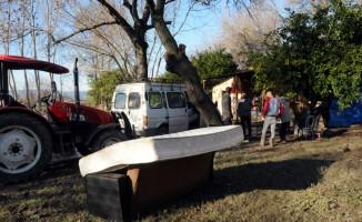 Su basan köylerde hasar tespit çalışması