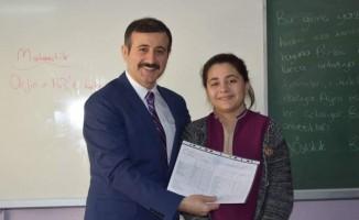 Sungurlu'da 8 bin 633 öğrenci karne aldı