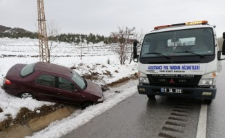 Sungurlu'da iki ayrı trafik kazası