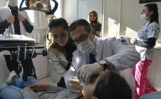 Tepebaşı, Çukurhisar'da diş kliniği açtı