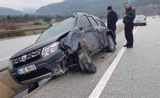 Tosya trafik kazası: 1 yaralı