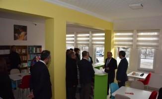 Tosya'da açılan kütüphaneye şehidin ismi verildi