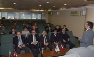Trabzon'da firmalara kriz döneminde yönetim süreci eğitimi verildi