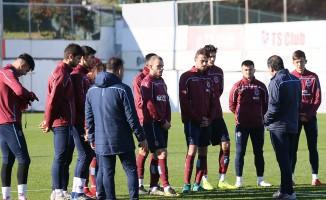 Trabzonspor'da Medipol Başakşehir maçı hazırlıkları
