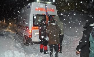 Tunceli'de kar ve tipiye yakalanan 301 kişi kurtarıldı