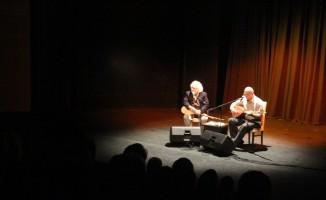 Türk Halk Müziği'nin iki usta ismi Marmaris'te konser verdi