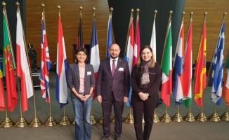 Türkiye-AB Karma Parlamento Komisyonu Başkanlık Divanı üyeleri Strazburg'da