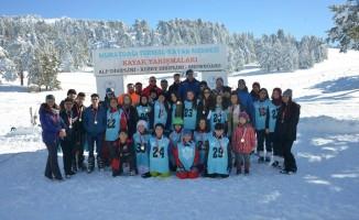 Türkiye Şampiyonasına katılacak yarışmacılar Muratdağı'nda mücadele etti