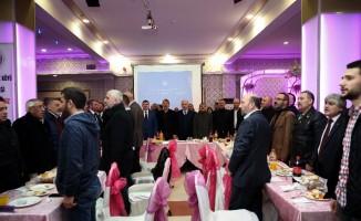 Ümraniye Belediye Başkan adayı Yıldırım, Karslıların Kaz Gecesi'ne katıldı