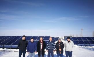 Uşak Belediyesi güneş enerjisinden elektrik üretecek