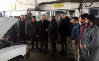 Vali Pehlivan, İl Özel İdaresi saha personeli ve vatandaşlarla biraraya geldi
