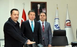 Vali Şentürk'ten AFAD'a ziyaret