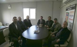 Vali Tavlı'dan Organize Sanayi Bölgesi Yönetimine ziyaret