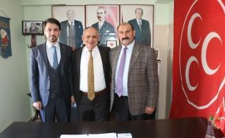 Yahyalı Ak Parti İl Teşkilatından MHP İlçe Teşkilatına Ziyaret