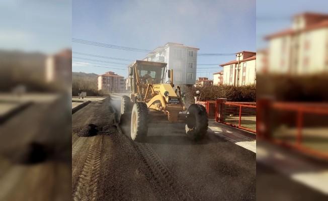 415. Sokak asfaltlanıyor