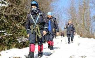 AFAD'tan zorlu kış şartlarında gerçeği aratmayan tatbikat
