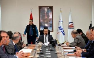 Afet ve Acil Durum Koordinasyon Kurulu toplantısı yapıldı