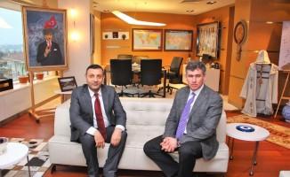 Ağrı Barosu Başkanı Aydın'dan TBB Başkanı Feyzioğlu'na ziyaret