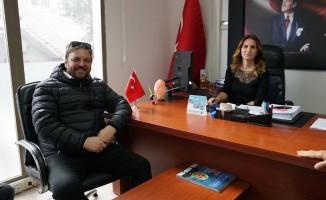 AK Parti'li aday Yazıcı seçim çalışmalarına devam ediyor