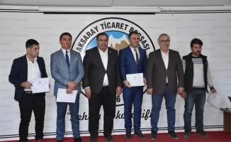 Aksaray'da 125 kursiyere kaz ve ördek yetiştiriciliği sertifikası verildi