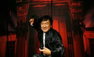 Aksiyon filmlerinin efsane ismi Jackie Chan, Madame Tussauds İstanbul'da