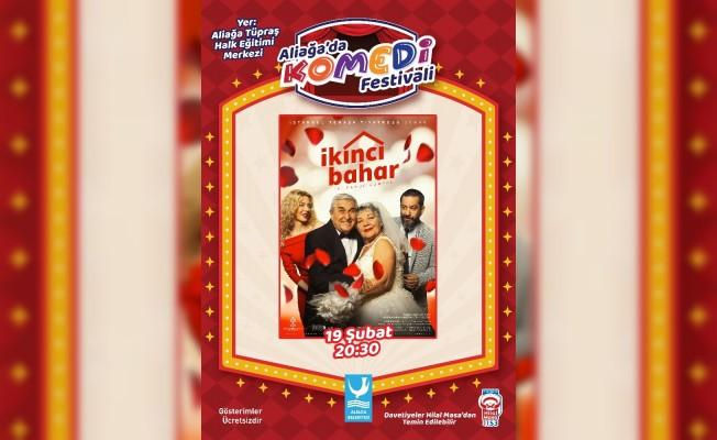 """Aliağa'da Komedi Festivali """"İkinci Bahar"""" ile başlıyor"""