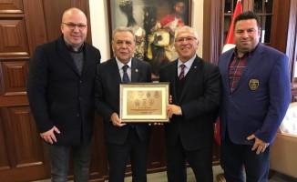 Altınordu'nun Başkanı Özkan'dan Kocaoğlu'na davet