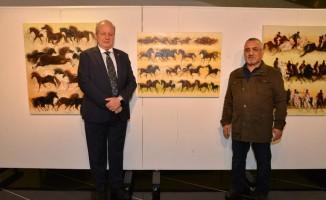 ASO'da Durmuş Ali Akça Resim Sergisi