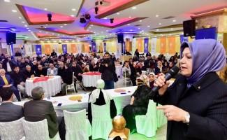 Av. Şeyma Döğücü, Sancaktepelilerle aday tanıtım toplantılarında buluşmaya devam ediyor