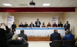 Avcılar'da deprem AK Partili başkan adayının toplantısında hissedildi