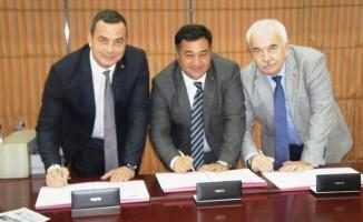 Aydın, Ödemiş ve Alaşehir ticaret borsaları kardeşlik protokolü imzalandı