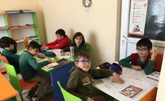Aydın'da kütüphaneler renklendi