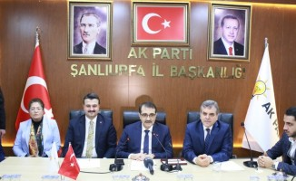 Bakan Dönmez, AK Parti Şanlıurfa teşkilat üyeleri ile bir araya geldi