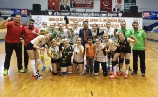 Balıkesir DSİ spor evinde kazandı 3-0