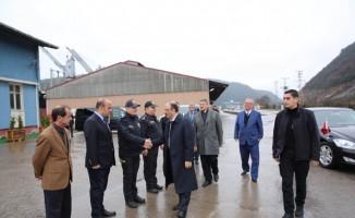 Bartın Limanı'nın kapasite artırım çalışmaları masaya yatırıldı