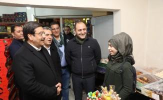 Başkan Atilla Bağlar'da esnafla bir araya geldi
