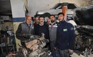 Başkan Atilla'dan Sanayi Sitesi esnafına ziyaret
