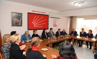 Başkan Avcı'dan rakibi Balıbek'e ziyaret