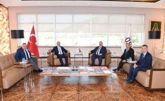 Başkan Bağlamış'tan Kayseri OSB'ye ziyaret