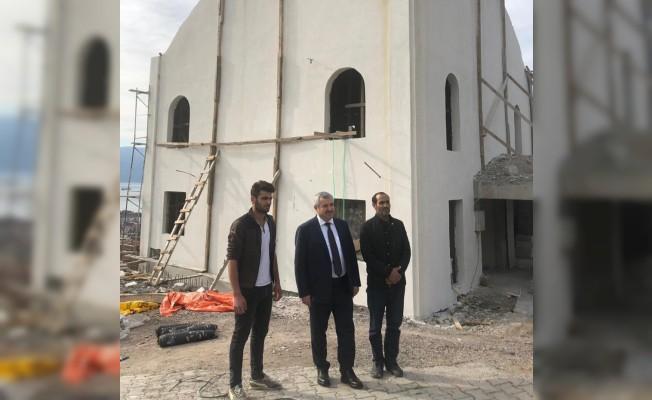 Başkan Baran'dan inşaat denetimi