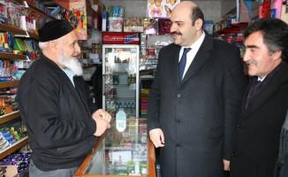 Başkan Orhan esnaf ziyaretlerini sürdürüyor