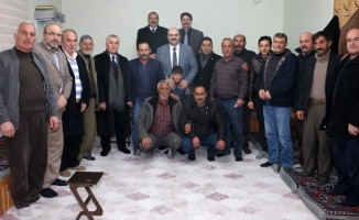 Başkan Orhan köylere çıkarma yaptı