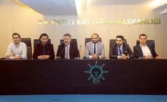 Başkan Palancıoğlu AK Gençlerle