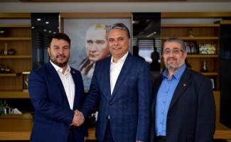 Başkan Uysal SP adayını kabul etti