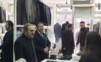Başkan Vekili Epcim'den esnaf ziyareti
