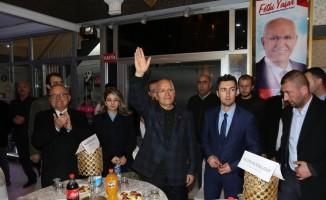 """Başkan Yaşar: """"Bizim kavgayı, ayrıştırmayı bırakıp ülkemize sahip çıkmamız lazım"""""""