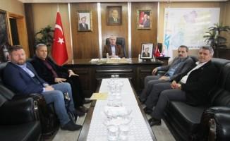 Bayburt Kültür ve Yardım Derneği'nden Başkan Memiş'e ziyaret